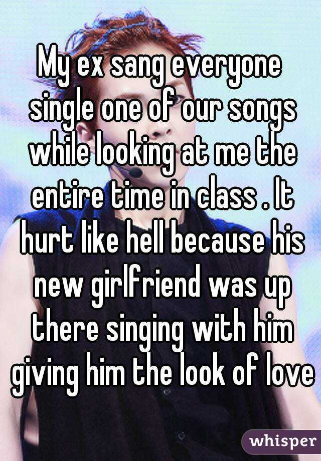 love songs to sing to him