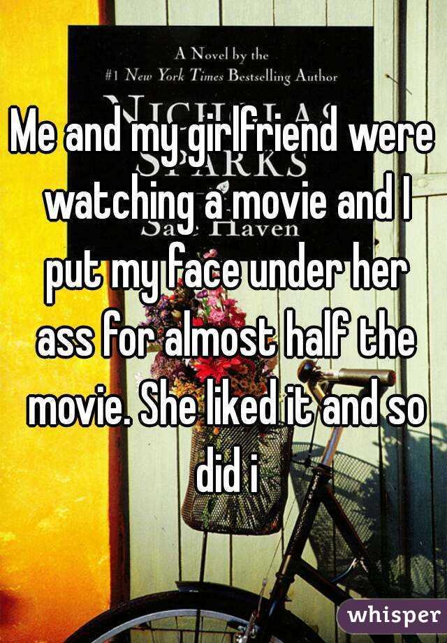 Face under her ass
