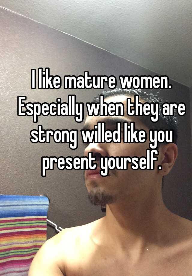 Like mature present shoulders down