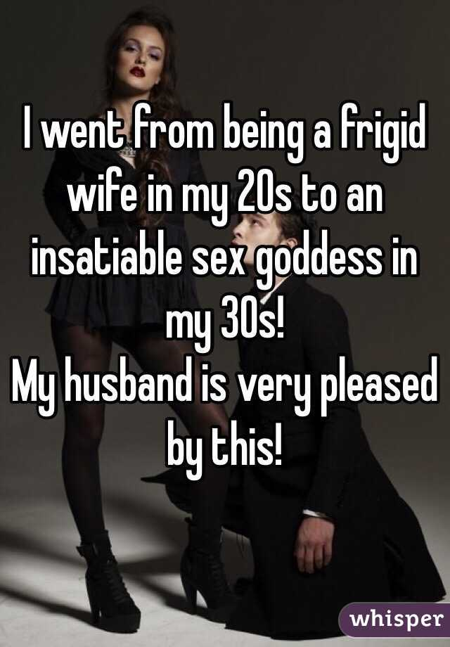 Sex with the frigid wife