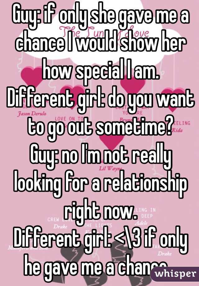 Want A Relationship To How Guy A Show You