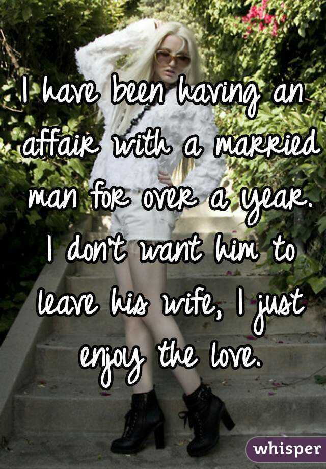married and want an affair