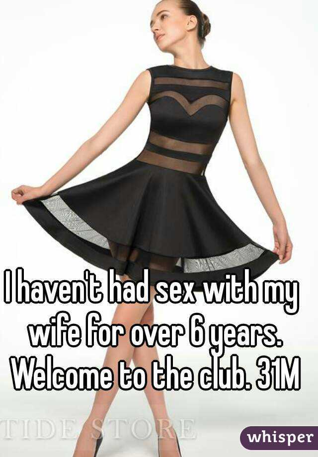 Had sex with wife in club