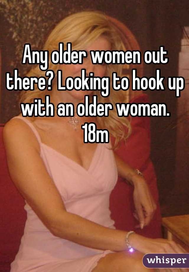 How to hook up with an older woman