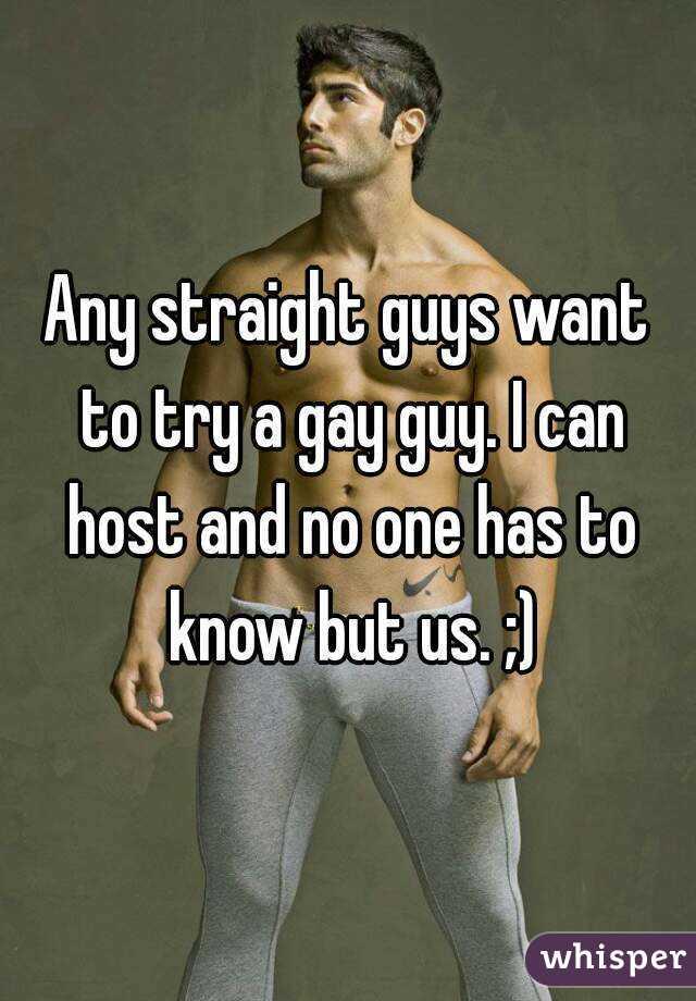 Gay guy straight guy