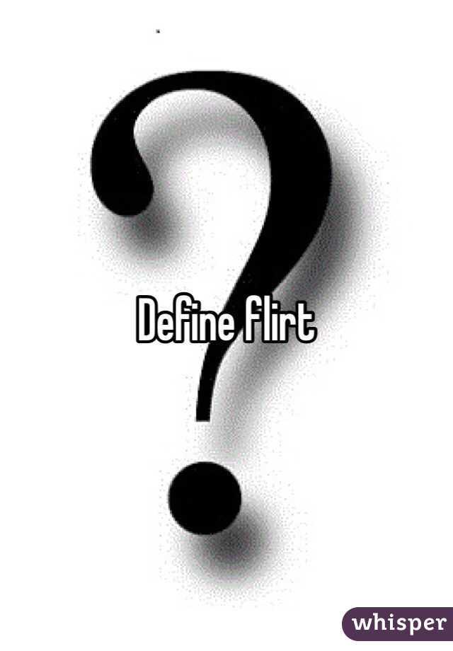 Flirt define