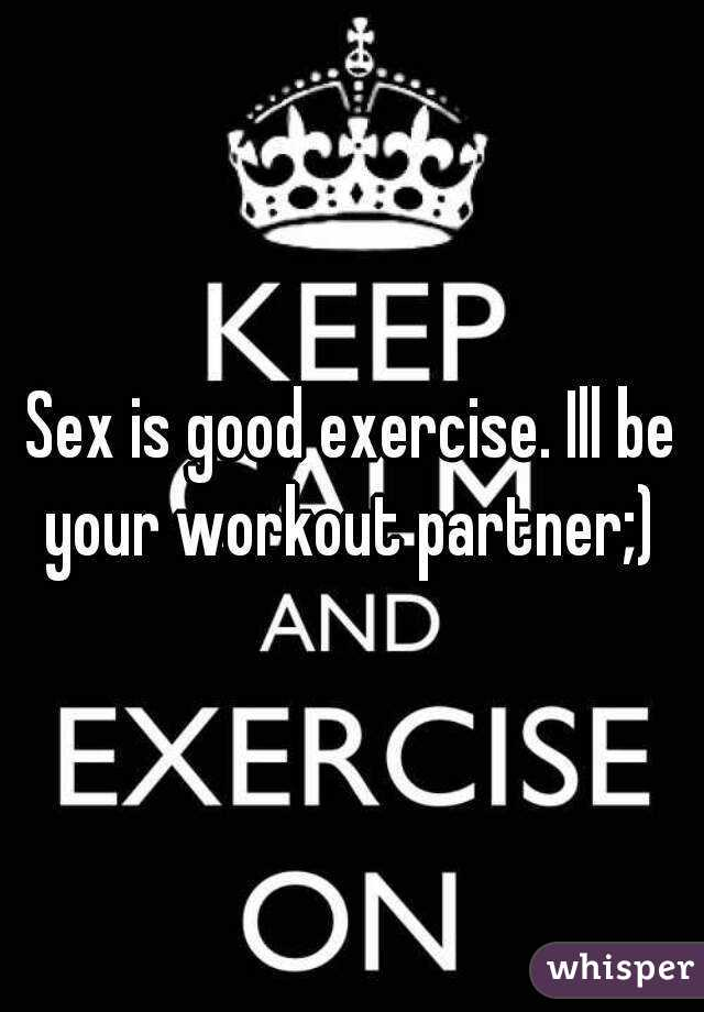 Is sex good for exercise
