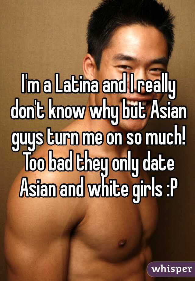 Asian only date white guys