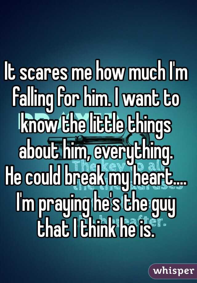 things about him