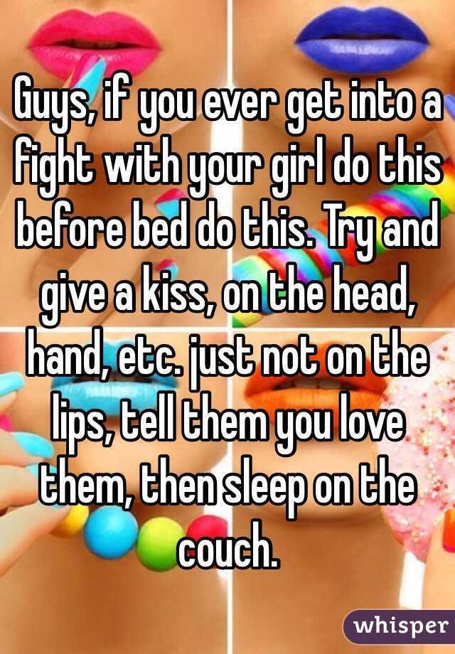 Girls Fight Then Kiss