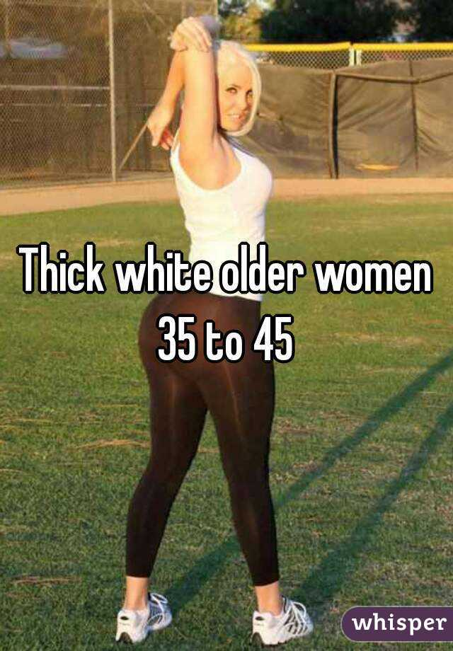 Pictures of thick white women