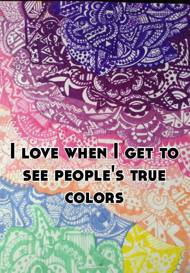 True colors dating