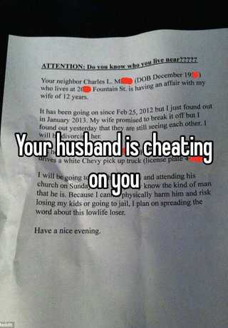 Find ways husband cheating to out is your if 10 tech