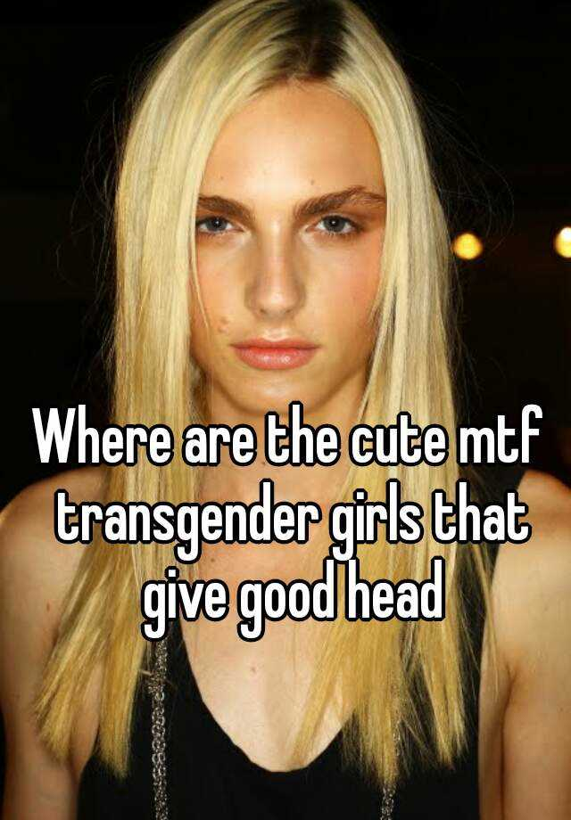 Mtf transsexuals