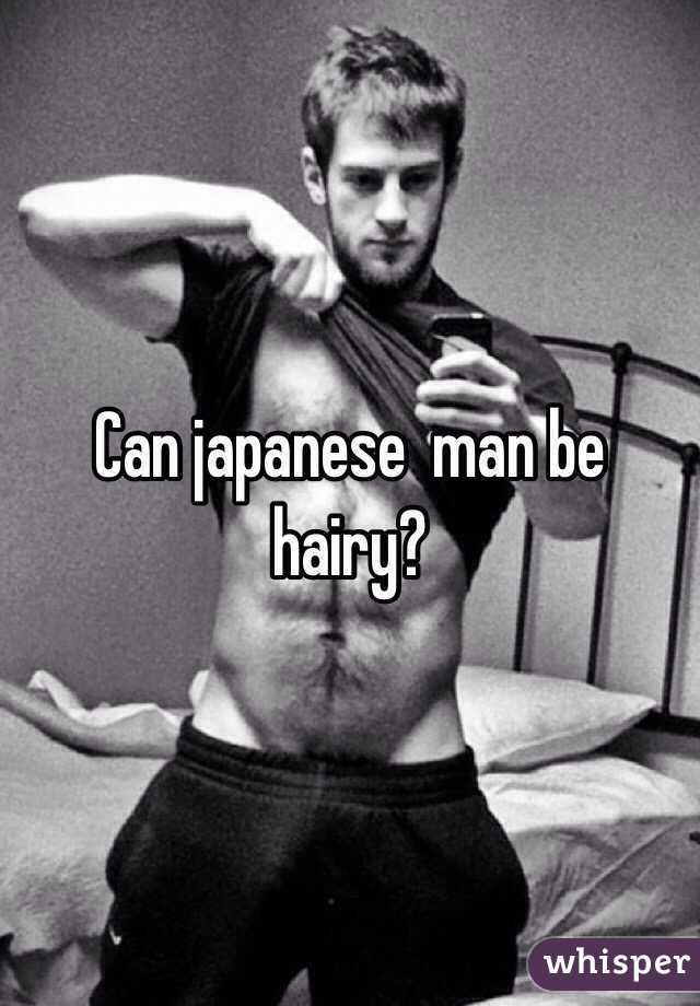 Hairy japanese men