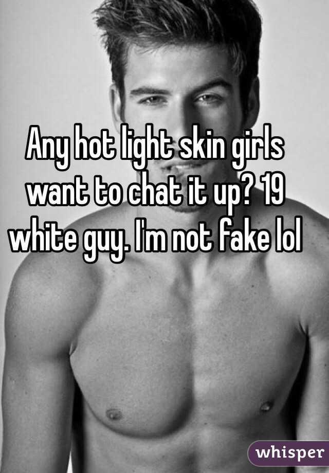 Do light skin girls like white/ non-black men.