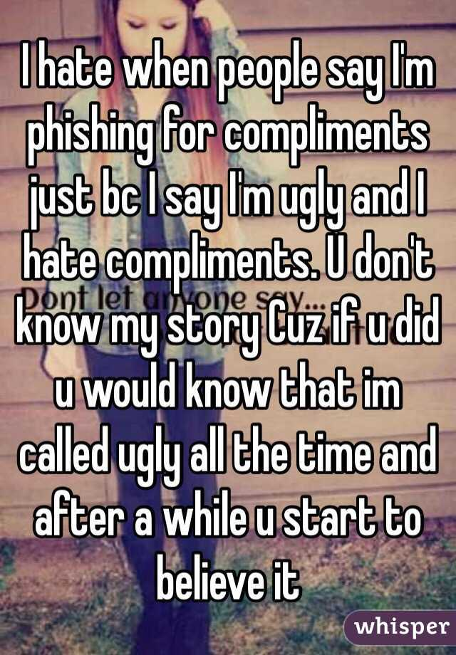 compliments that begin with u