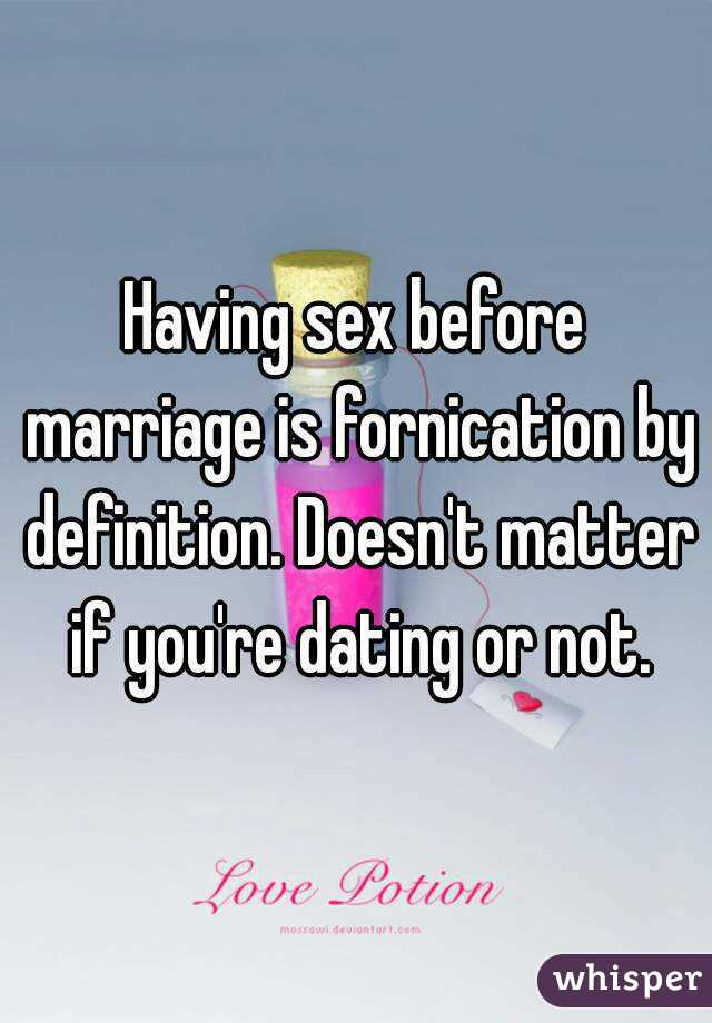 No dating until youre married quit