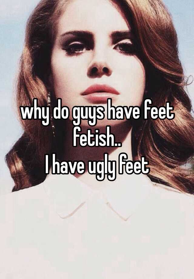 Ugly feet fetish that