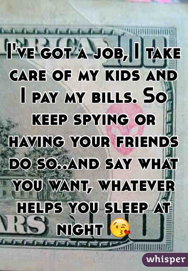 taking care of kids jobs