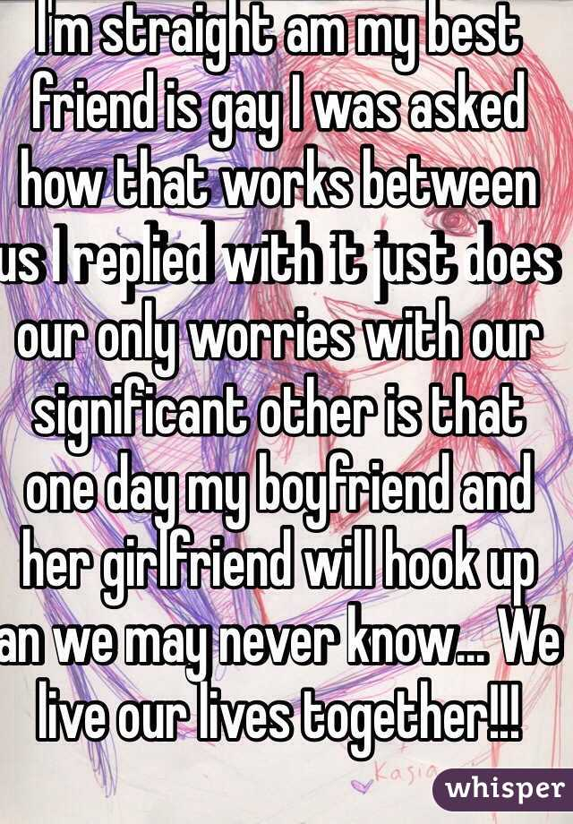 My best friend is hookup my other friend