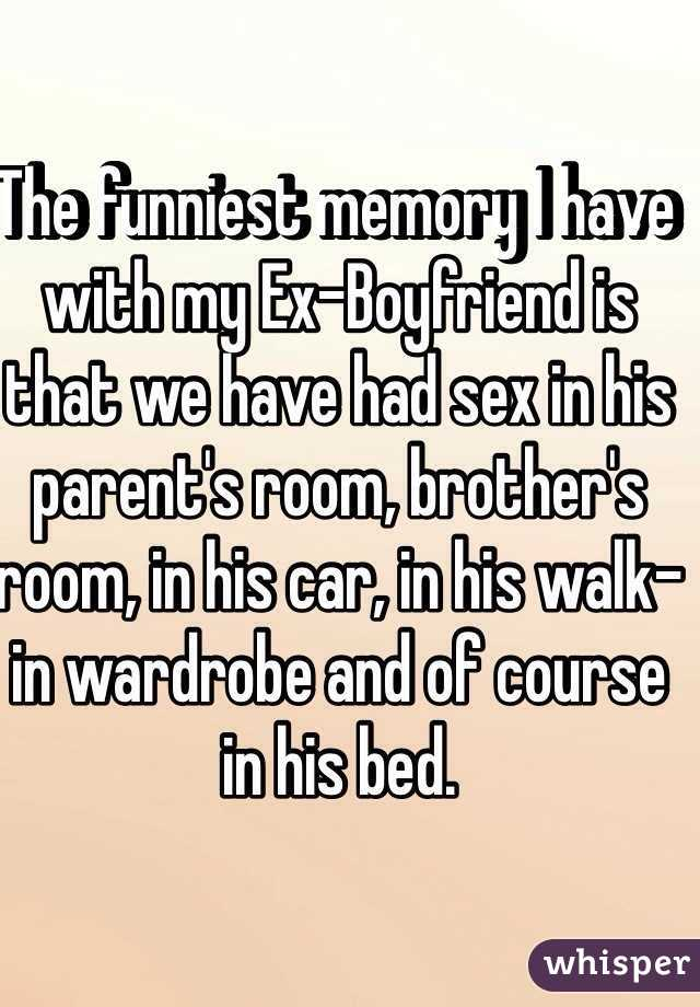 We had sex in brothers bed