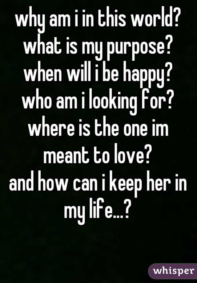 who am i looking for