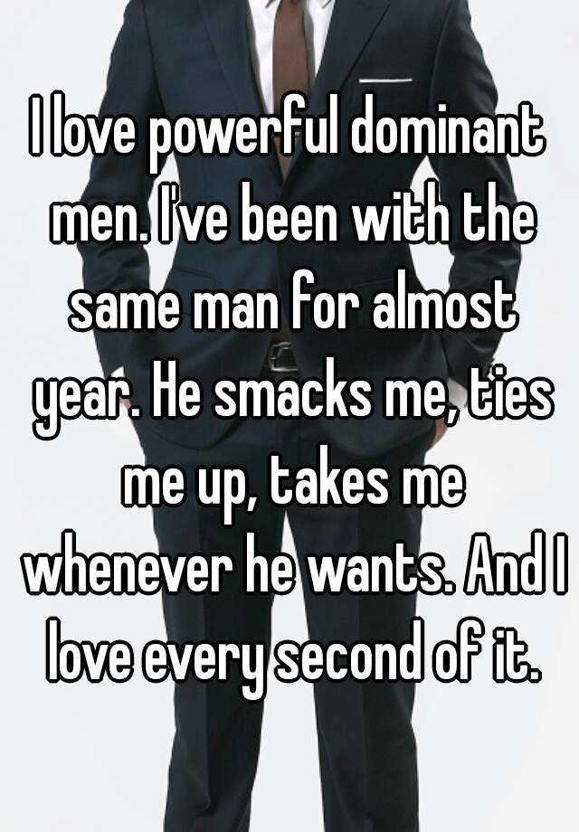 Meet dominant men