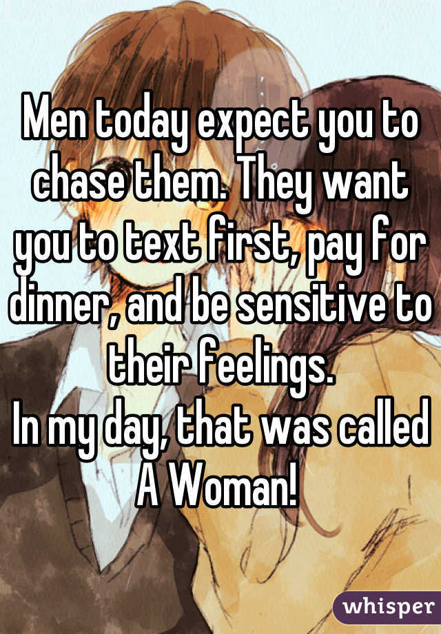 When do you expect her to pay?