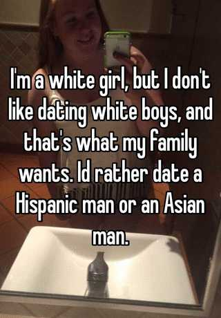 Hispanic men and white women dating