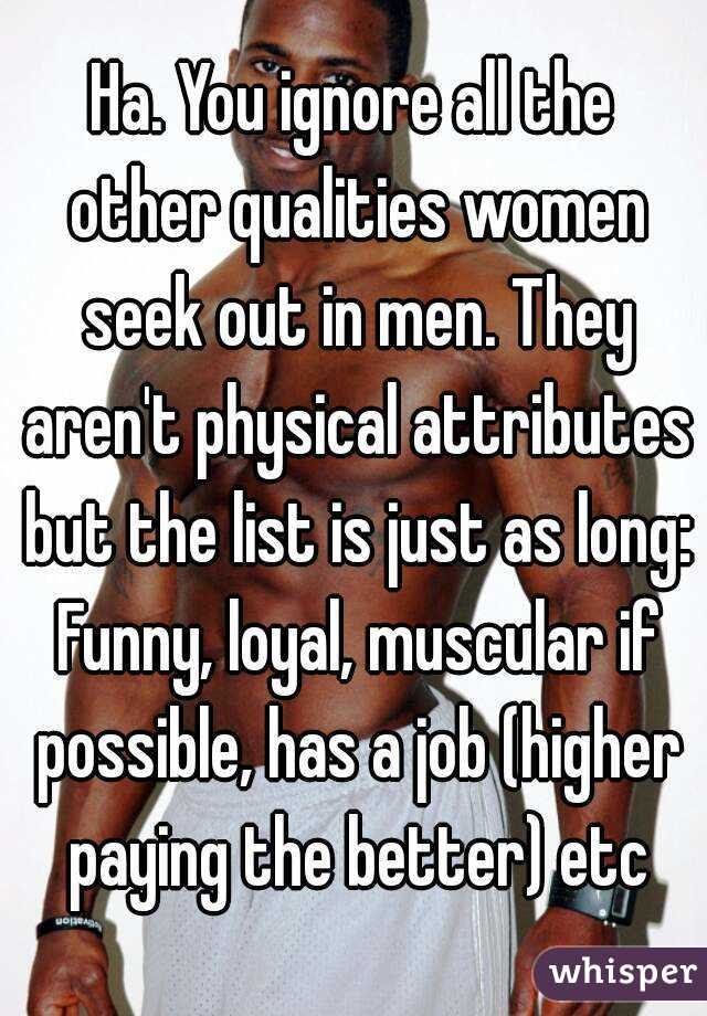 list of physical attributes