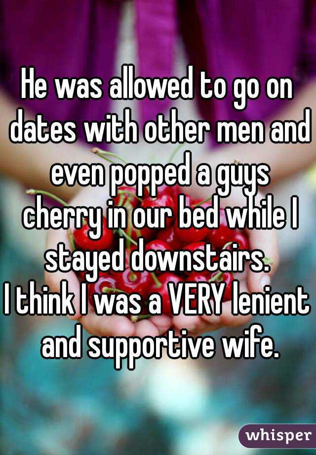 Wife dates other men