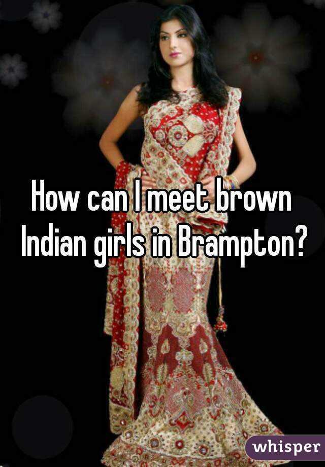 Indian girls in brampton