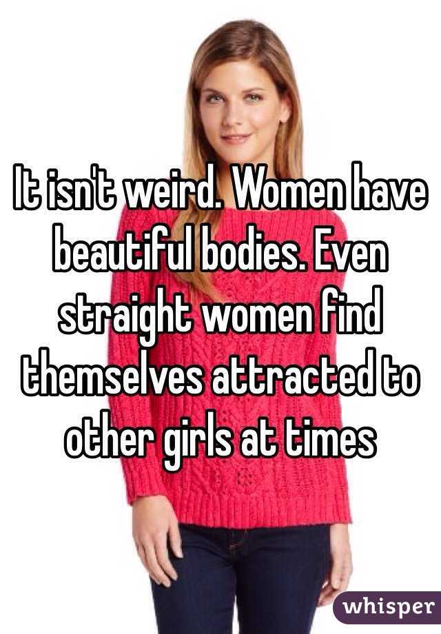 straight women attracted to other women