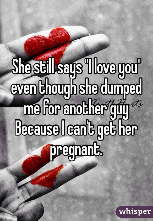 She still says