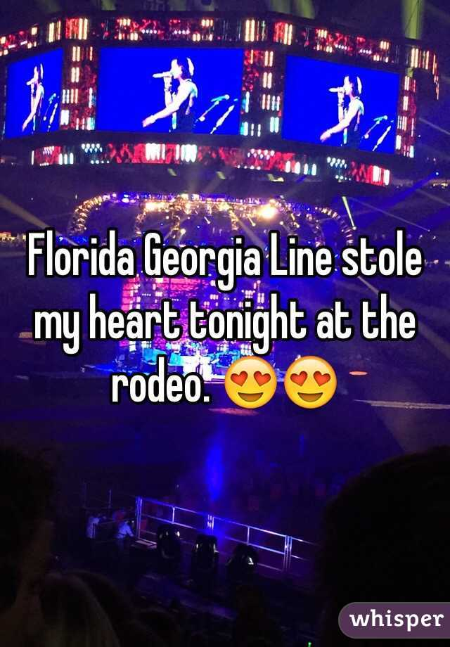 Florida Georgia Line stole my heart tonight at the rodeo. 😍😍