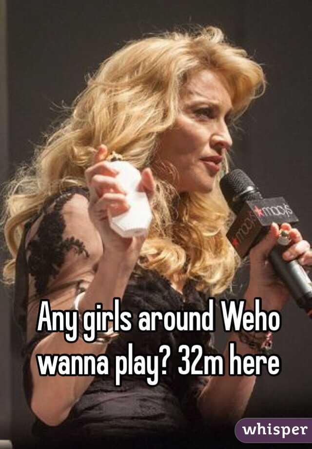 Any girls around Weho wanna play? 32m here