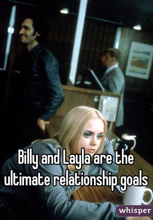Billy and Layla are the ultimate relationship goals