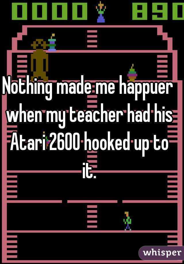 I hook up with my teacher