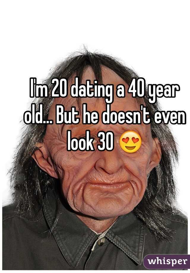 Im 30 dating a 40 year old