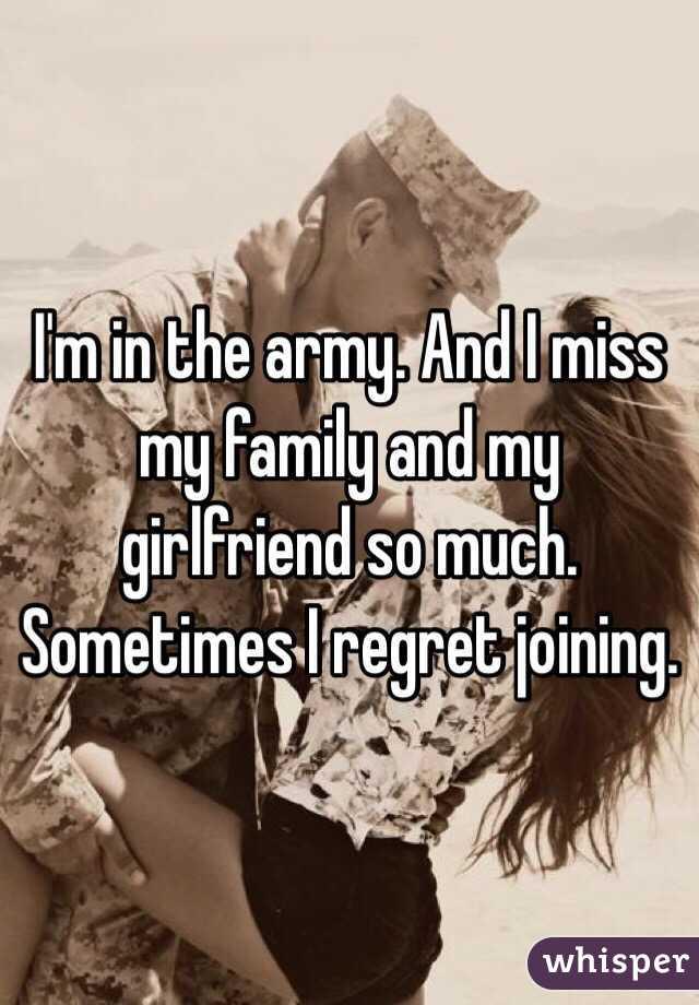 i am a military girlfriend