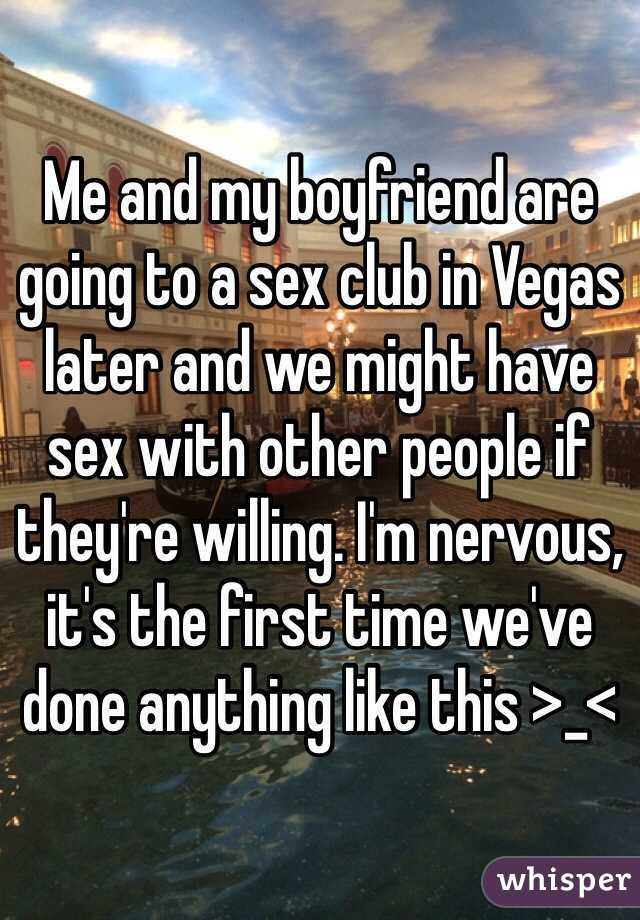 Do people have sex at clubs