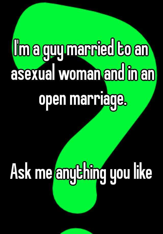 Married to an asexual woman