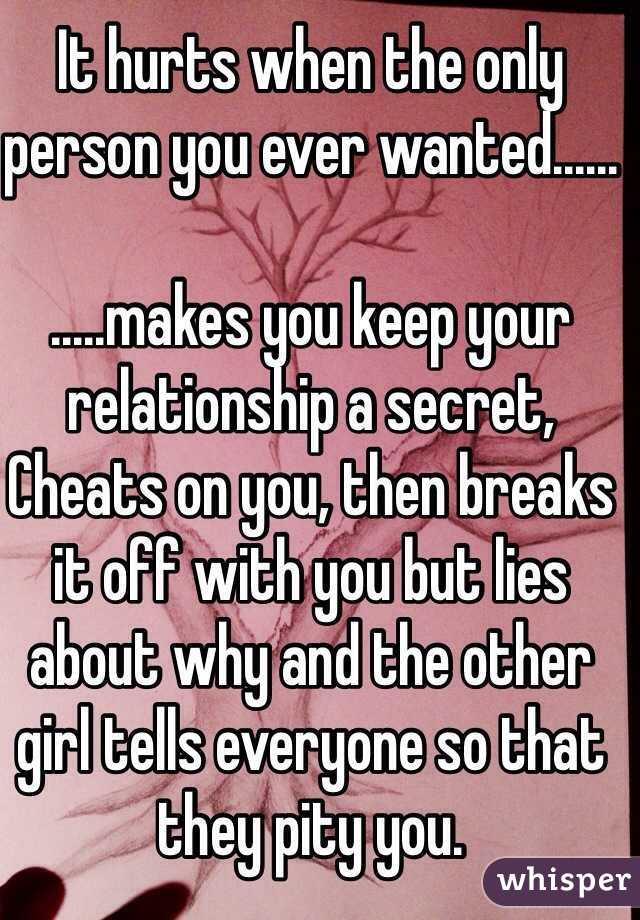 The Secret Ever Keeps