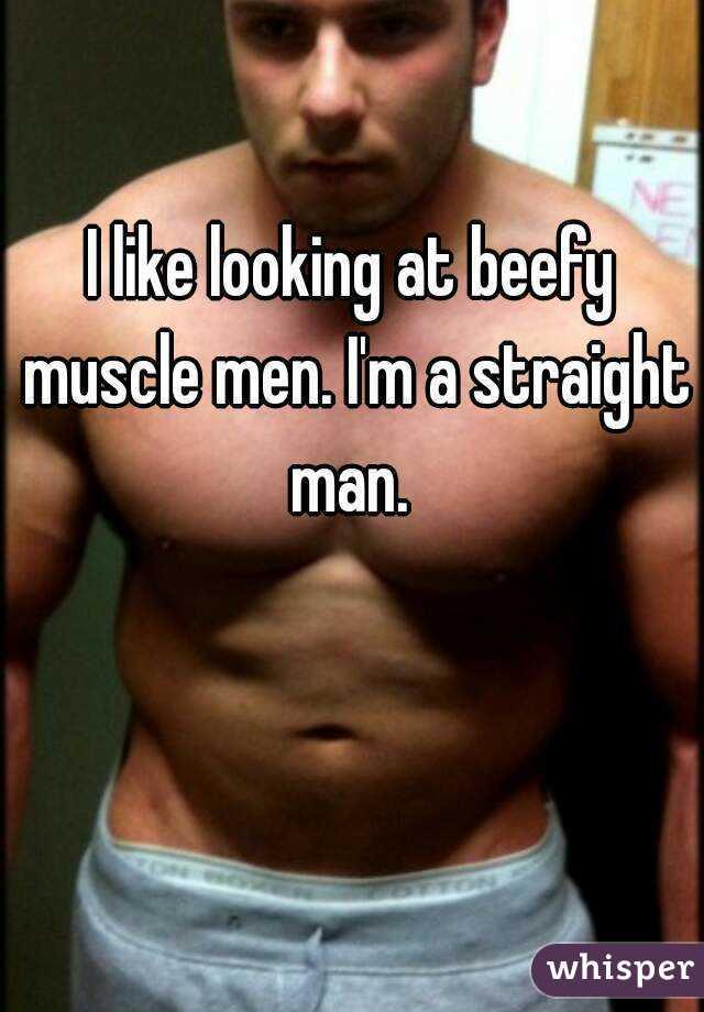 Beefy muscle men