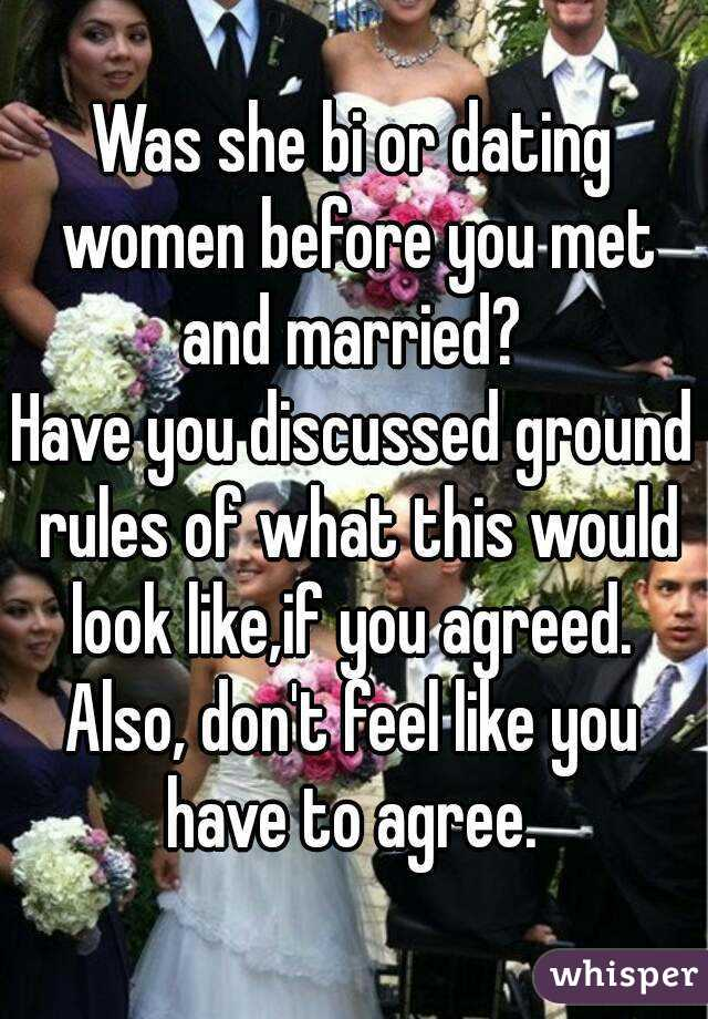 Ground rules for dating a married man who says