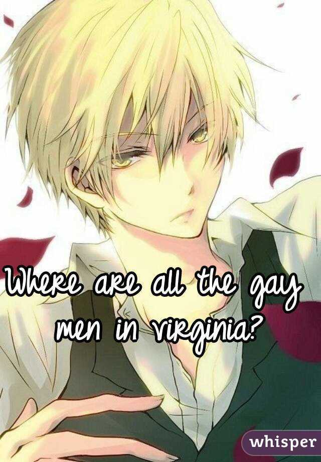 Where are all the gay men in virginia?