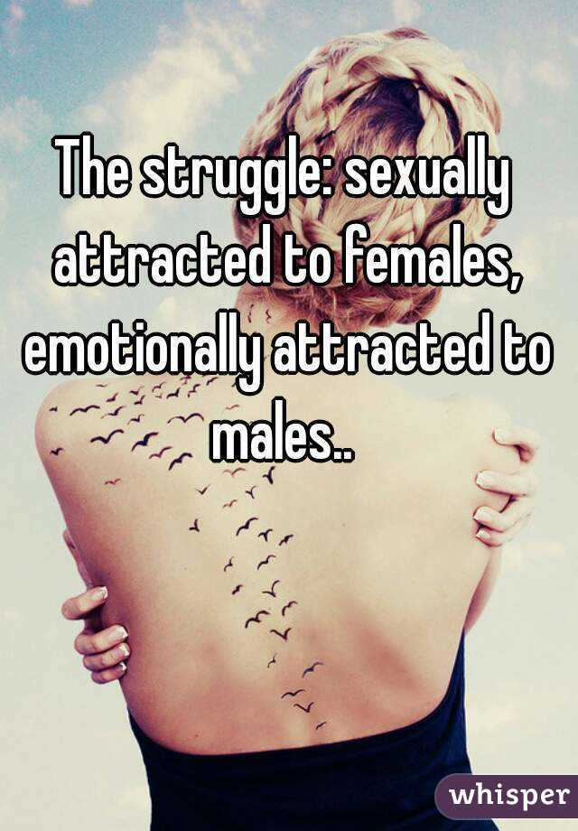 Emotionally attracted