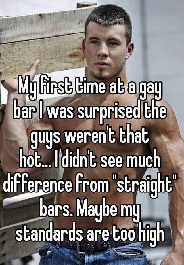 Straight Man First Time