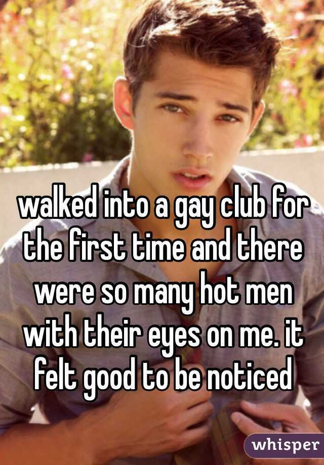 Gay guys first time
